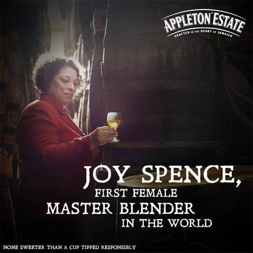 1st woman master blender joy spence
